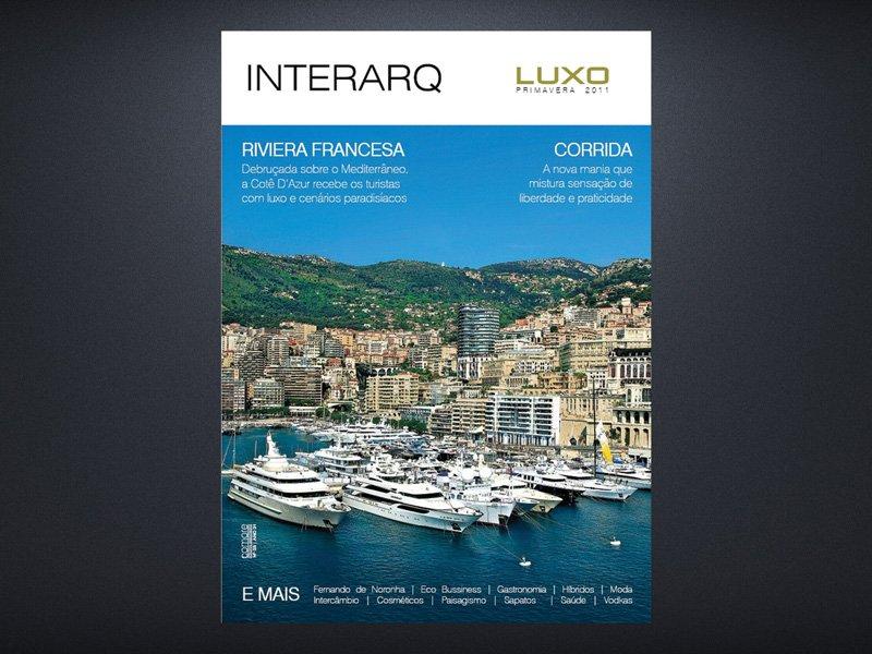 INTERARQ LUXO PRIMAVERA 2011 - Revista InterArq | Arquitetura, decoração, design, interiores, paisagismo, lifestyle e festas
