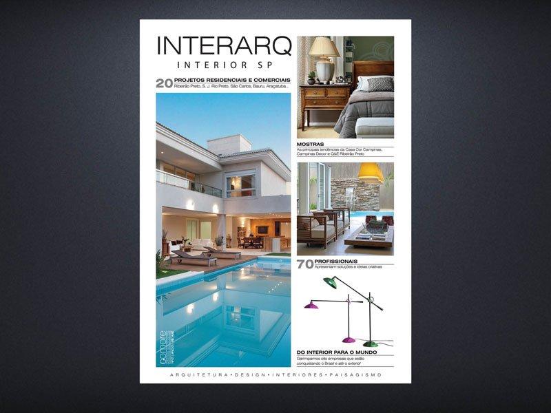 INTERARQ INTERIOR SP 01 - Revista InterArq | Arquitetura, decoração, design, interiores, paisagismo, lifestyle e festas