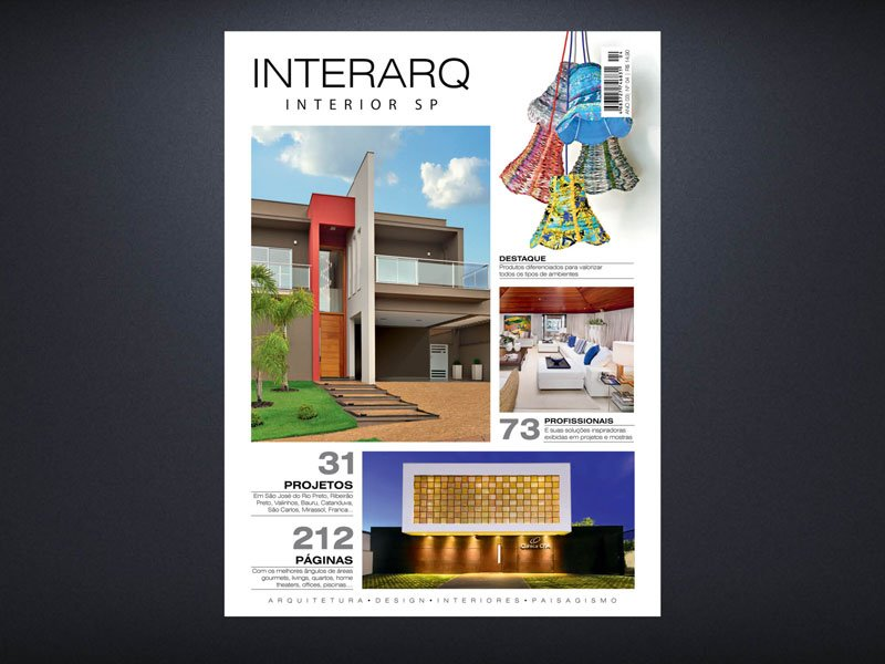INTERARQ INTERIOR SP 04 - Revista InterArq | Arquitetura, decoração, design, interiores, paisagismo, lifestyle e festas