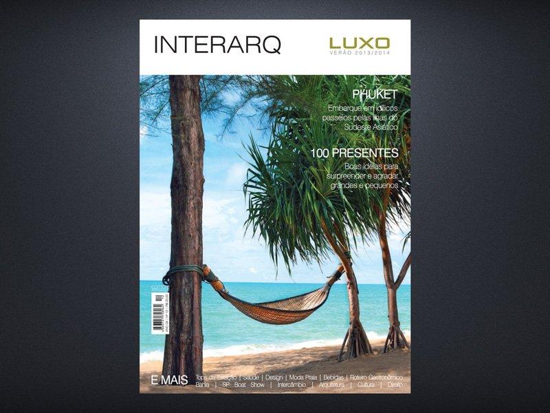 INTERARQ LUXO VERÃO 2013/2014 - Revista InterArq | Arquitetura, decoração, design, interiores, paisagismo, lifestyle e festas