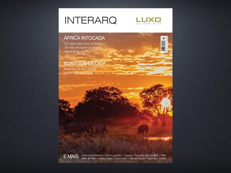 INTERARQ LUXO OUTONO 2014 - Revista InterArq | Arquitetura, decoração, design, interiores, paisagismo, lifestyle e festas