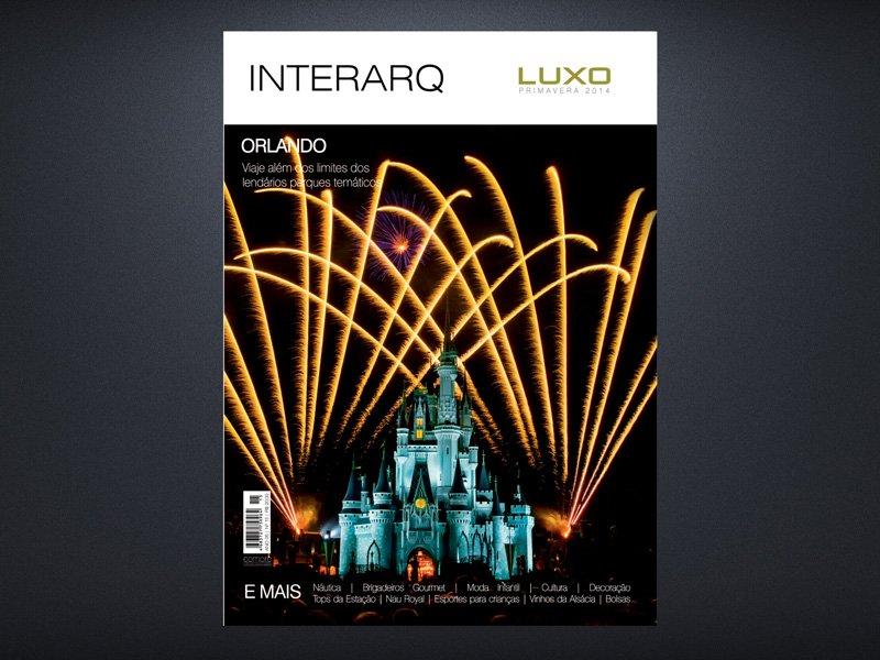 INTERARQ LUXO PRIMAVERA 2014 - Revista InterArq | Arquitetura, decoração, design, interiores, paisagismo, lifestyle e festas