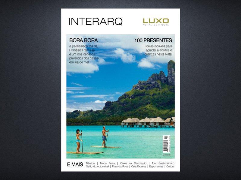 INTERARQ LUXO VERÃO 2014/2015 - Revista InterArq | Arquitetura, decoração, design, interiores, paisagismo, lifestyle e festas
