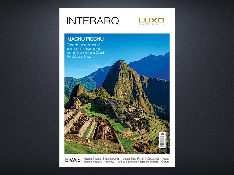 INTERARQ LUXO INVERNO 2015 - Revista InterArq | Arquitetura, decoração, design, interiores, paisagismo, lifestyle e festas