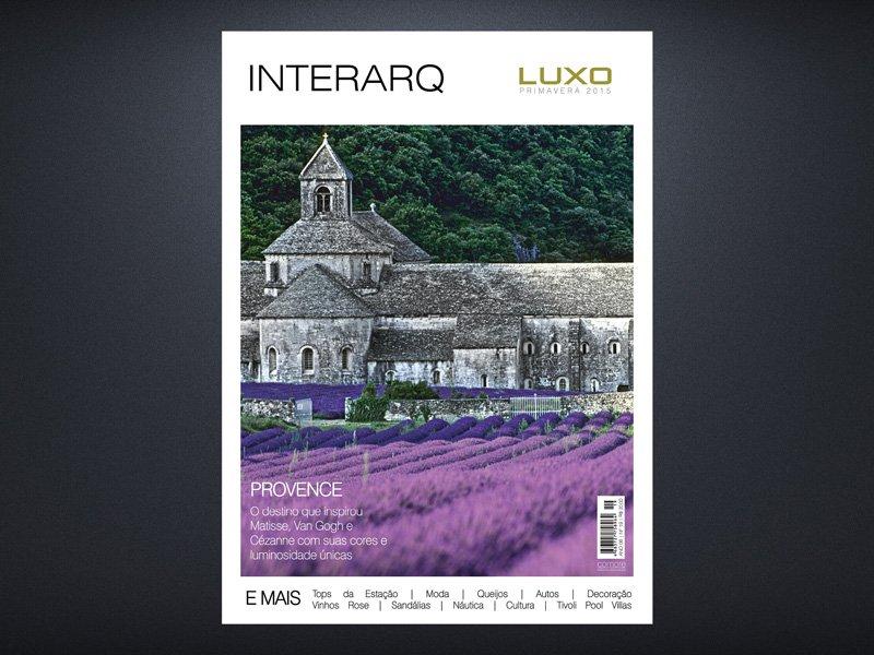 INTERARQ LUXO PRIMAVERA 2015 - Revista InterArq | Arquitetura, decoração, design, interiores, paisagismo, lifestyle e festas