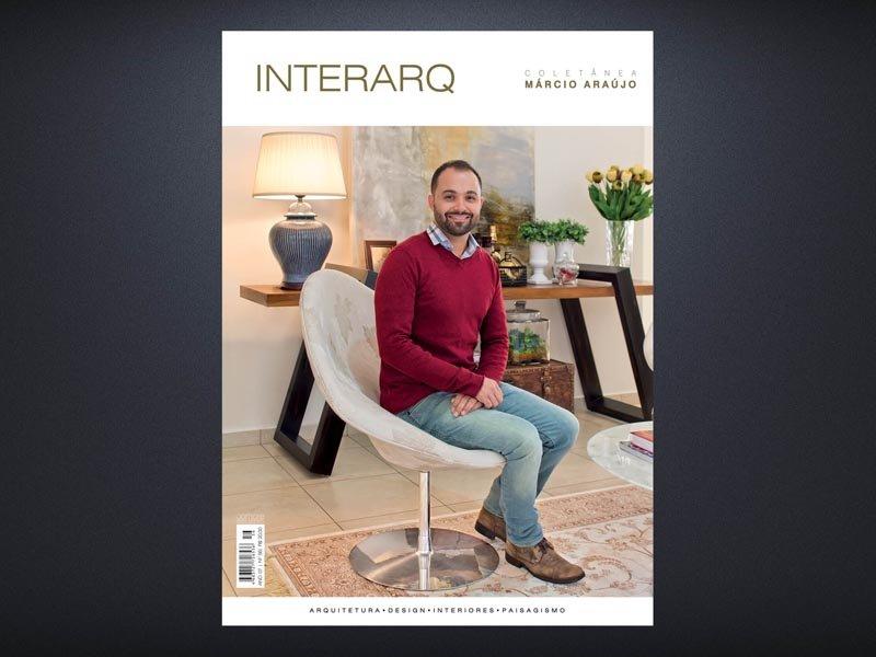 INTERARQ COLETÂNEA MÁRCIO ARAÚJO – ED. 56 - Revista InterArq   Arquitetura, decoração, design, interiores, paisagismo, lifestyle e festas