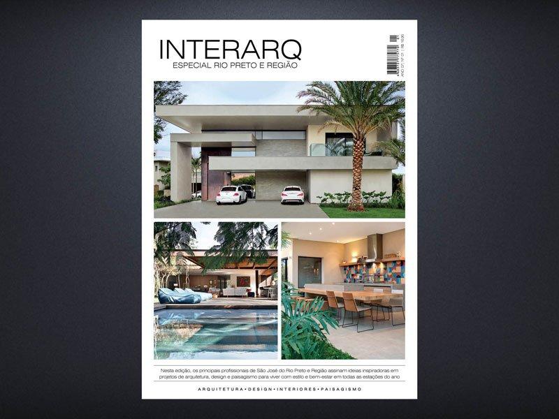 INTERARQ ESPECIAL RIO PRETO E REGIÃO – ED 01 - Revista InterArq   Arquitetura, decoração, design, interiores, paisagismo, lifestyle e festas