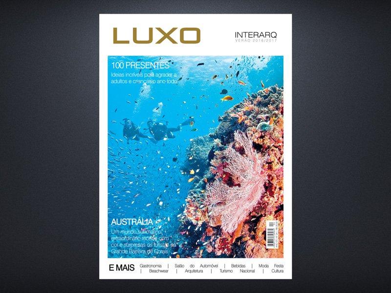 INTERARQ LUXO VERÃO 2016/2017 - Revista InterArq | Arquitetura, decoração, design, interiores, paisagismo, lifestyle e festas