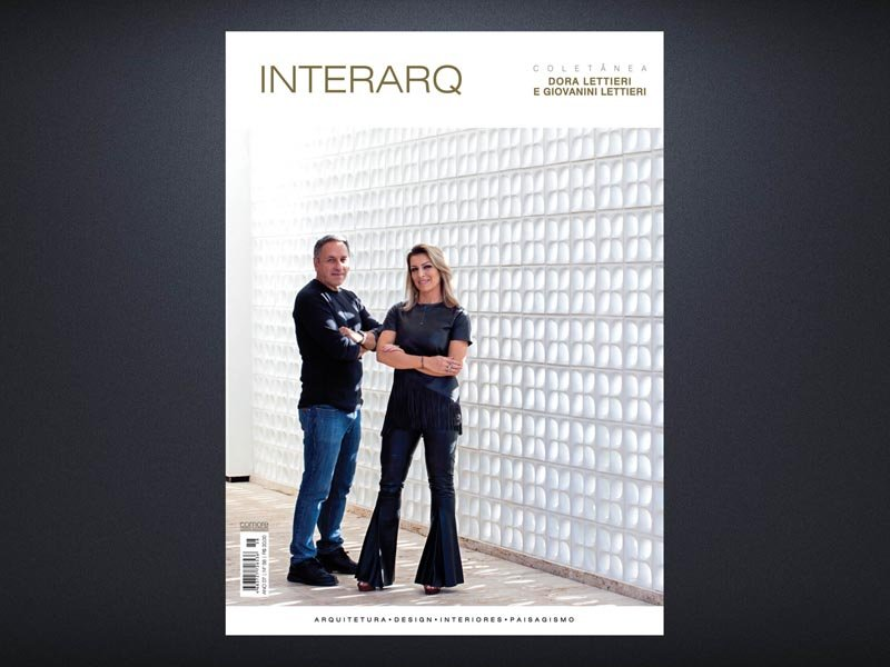 INTERARQ COLETÂNEA DORA LETTIERI E GIOVANINI LETTIERI – ED. 58 - Revista InterArq   Arquitetura, decoração, design, interiores, paisagismo, lifestyle e festas