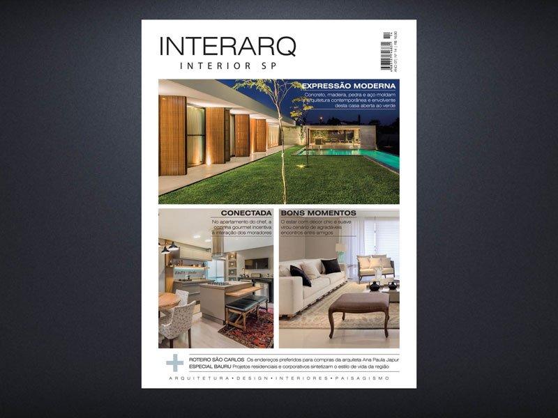 INTERARQ INTERIOR SP 14 - Revista InterArq | Arquitetura, decoração, design, interiores, paisagismo, lifestyle e festas