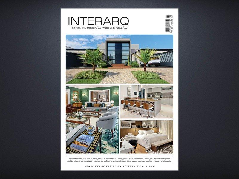 INTERARQ ESPECIAL RIBEIRÃO PRETO E REGIÃO – ED 02 - Revista InterArq   Arquitetura, decoração, design, interiores, paisagismo, lifestyle e festas