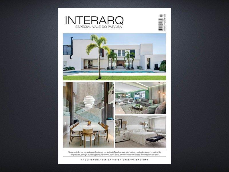INTERARQ ESPECIAL VALE DO PARAÍBA – ED 03 - Revista InterArq   Arquitetura, decoração, design, interiores, paisagismo, lifestyle e festas