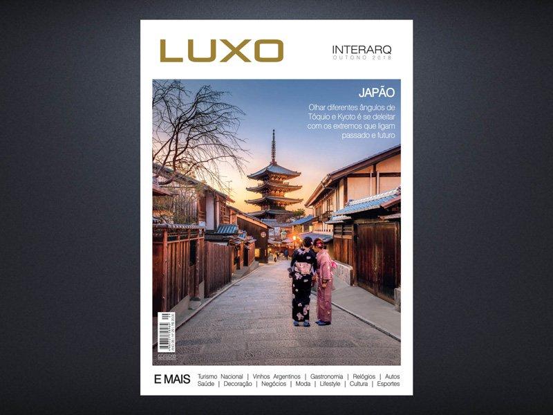 INTERARQ LUXO OUTONO 2018 - Revista InterArq | Arquitetura, decoração, design, interiores, paisagismo, lifestyle e festas