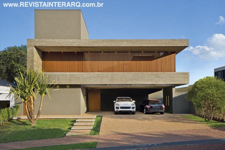 Com estilo moderno, esta casa possui conceito aberto e ambientes integrados - Revista InterArq | Arquitetura, decoração, design, interiores, paisagismo, lifestyle e festas