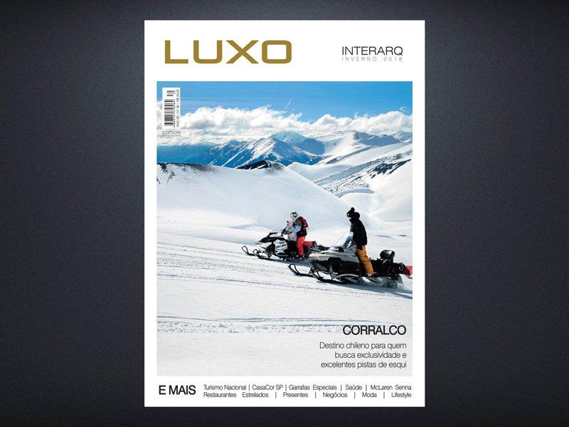 INTERARQ LUXO INVERNO 2018 - Revista InterArq | Arquitetura, decoração, design, interiores, paisagismo, lifestyle e festas