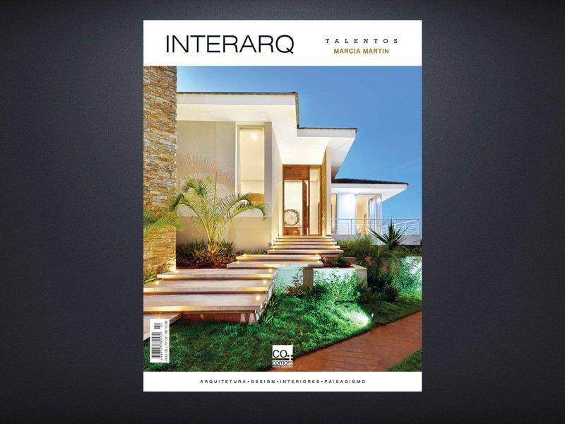 INTERARQ TALENTOS MARCIA MARTIN – ED 02 - Revista InterArq | Arquitetura, decoração, design, interiores, paisagismo, lifestyle e festas