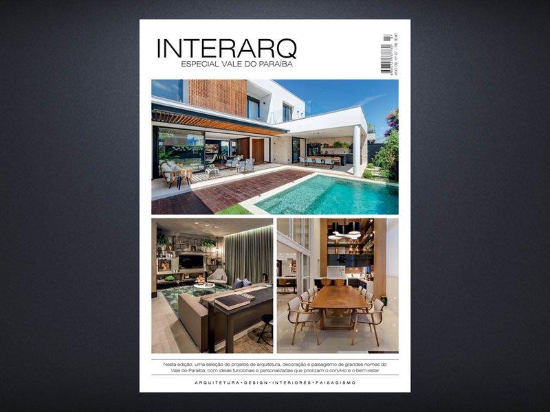 INTERARQ ESPECIAL VALE DO PARAÍBA – ED 07 - Revista InterArq   Arquitetura, decoração, design, interiores, paisagismo, lifestyle e festas