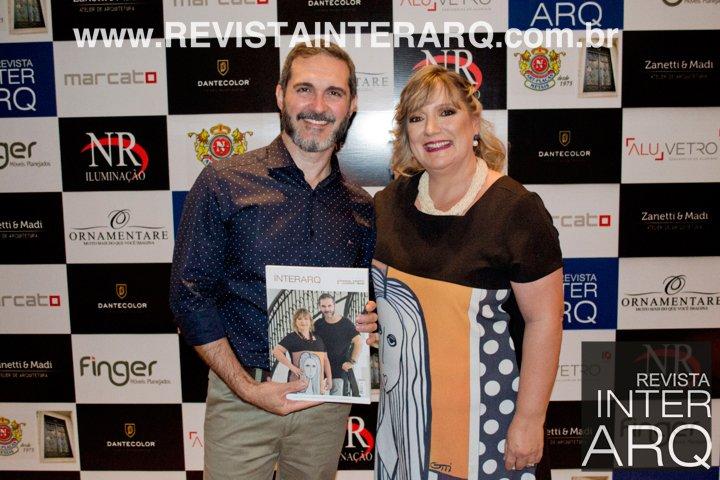 Lançamento da InterArq Coletânea Germana Zanetti e Leandro Madi - Revista InterArq | Arquitetura, decoração, design, interiores, paisagismo, lifestyle e festas