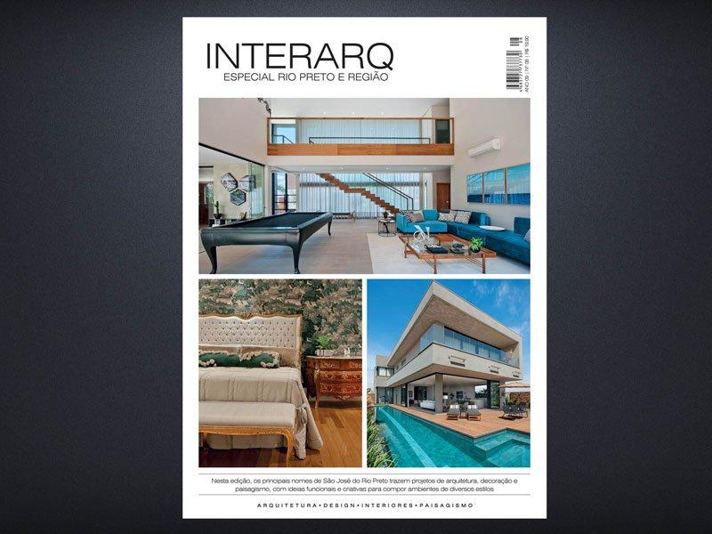 INTERARQ ESPECIAL RIO PRETO E REGIÃO – ED 08 - Revista InterArq   Arquitetura, decoração, design, interiores, paisagismo, lifestyle e festas