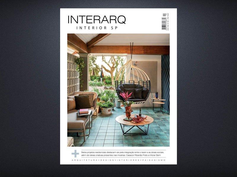 INTERARQ INTERIOR SP 20 - Revista InterArq | Arquitetura, decoração, design, interiores, paisagismo, lifestyle e festas