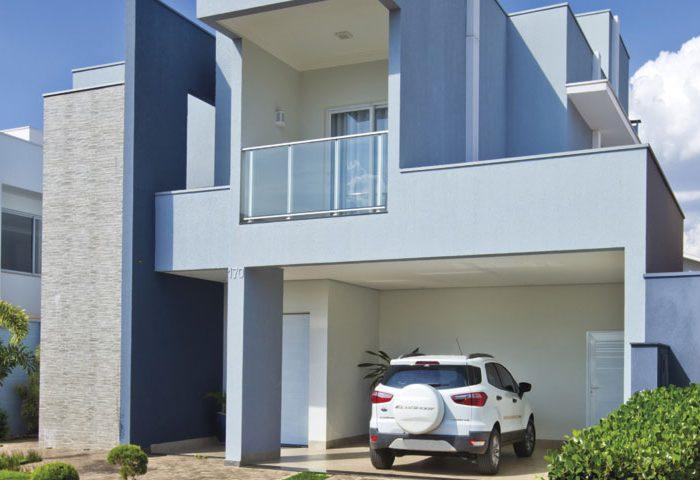 Uma arquitetura leve e moderna foi o pedido para esta casa - Revista InterArq | Arquitetura, decoração, design, interiores, paisagismo, lifestyle e festas
