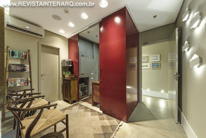 Para esta clínica de psicanálise ambientes com total privacidade e conforto - Revista InterArq | Arquitetura, decoração, design, interiores, paisagismo, lifestyle e festas