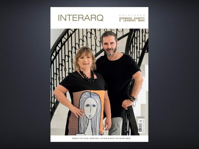 INTERARQ COLETÂNEA GERMANA ZANETTI E LEANDRO MADI – ED. 63 - Revista InterArq   Arquitetura, decoração, design, interiores, paisagismo, lifestyle e festas