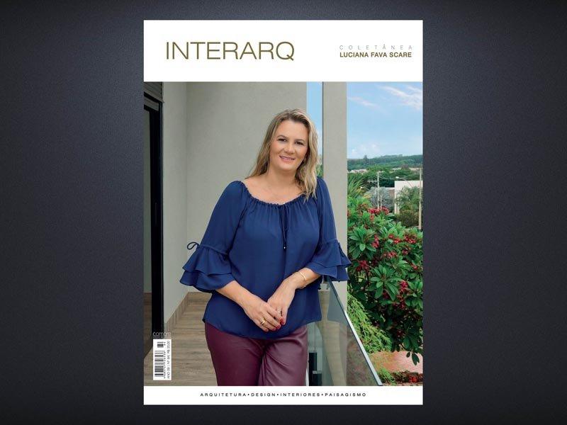 INTERARQ COLETÂNEA LUCIANA FAVA SCARE – ED. 64 - Revista InterArq   Arquitetura, decoração, design, interiores, paisagismo, lifestyle e festas