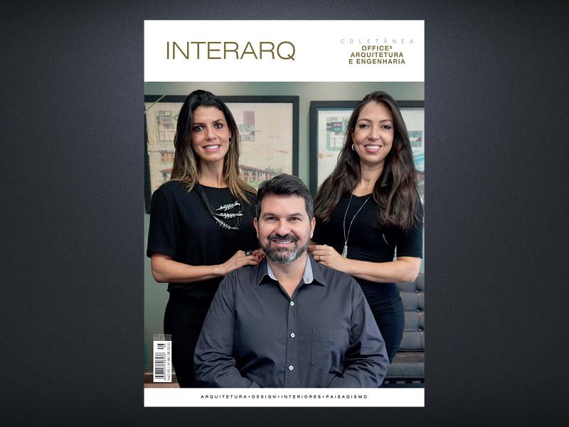 INTERARQ COLETÂNEA OFFICE 3 ARQUITETURA E ENGENHARIA – ED. 66 - Revista InterArq   Arquitetura, decoração, design, interiores, paisagismo, lifestyle e festas