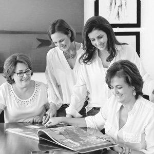 Silvia Valdiviezo, Vânia Rodrigues, Heloísa Pupo e Isabel Rodrigues - Revista InterArq | Arquitetura, decoração, design, interiores, paisagismo, lifestyle e festas