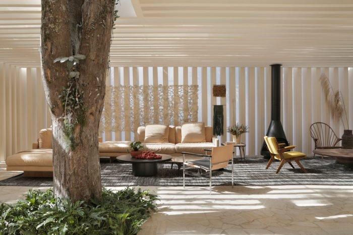 Ambiente: Casa das Árvores com Terraço Profissional: Otto Felix Foto: MCA Estúdio