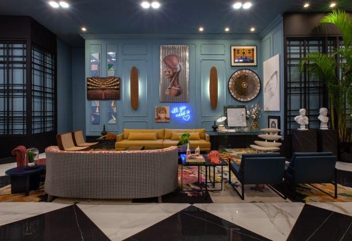 Ambiente: Foyer Bienvenue Profissional: Lisandro Piloni Foto: Cris de Rossi