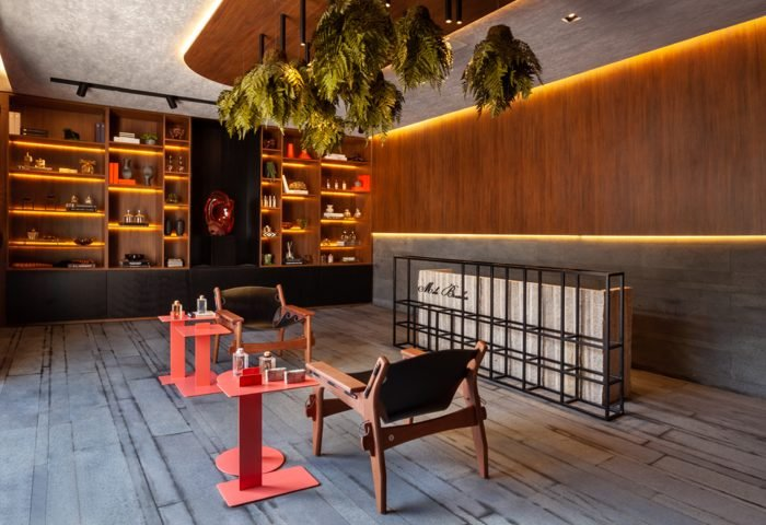 Ambiente: Lounge dos Aromas Profissional: Sharon Fliter Foto: Cris Rossi