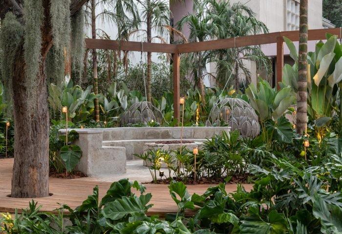 Ambiente: Jardim Elementar Profissional: Kalil Ferre Paisagismo Foto: Evelyn Muller