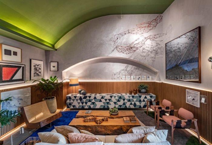 Ambiente: Hall Senhora das Águas Profissional: Weiss Arquitetura Foto: Renato Navarro