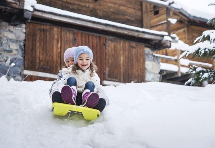 Atividades exclusivas para as crianças são disponibilizadas em toda a estação de esqui. foto_David Andre