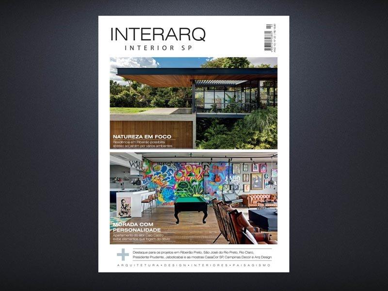 INTERARQ INTERIOR SP 22 - Revista InterArq | Arquitetura, decoração, design, interiores, paisagismo, lifestyle e festas