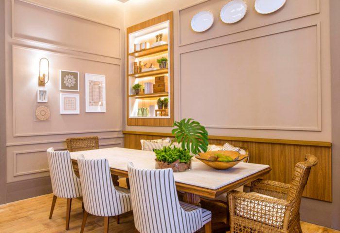 Sala de Jantar por Celina Zappellini