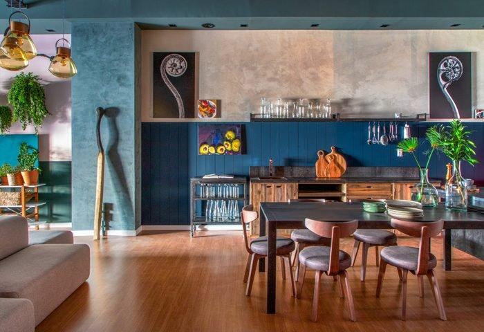 Loft Coral #Co.living por Leila Bittencourt