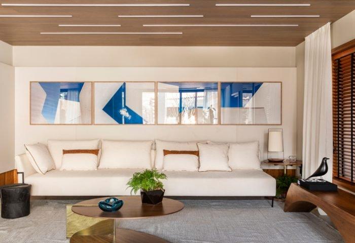 Living perene por C4 Arquitetos