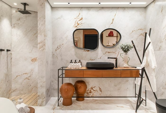 Sala de banho: Eliana Santos Caramurú e Fabíola Affonso Caramurú